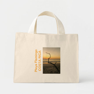 Playa Flamingo Sunset COSTA RICA Mini Tote Bag