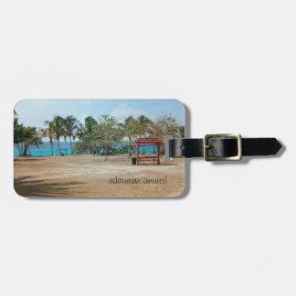 Playa Giron - Beach - Luggage Tag