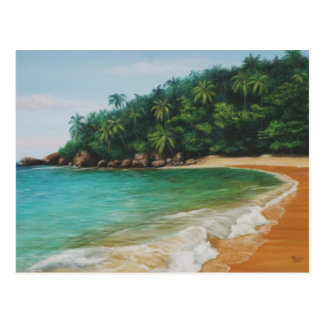 Playa grande postcard