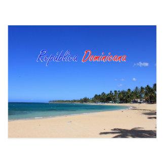 Playa Las Terrenas Samaná República Dominicana Postcard