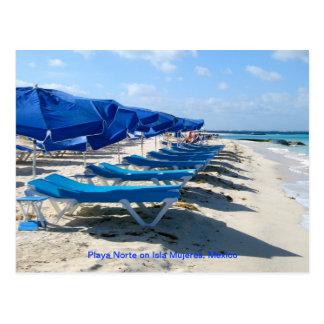 Playa Norte, Isla Mujeres, Mexico Postcard