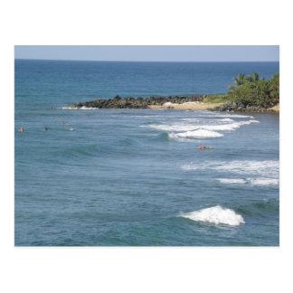 Playas de Puerto Rico Ricon Postcard