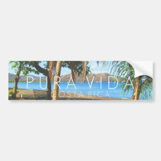 Playas del Coco Pura Vida Costa Rica Bumper Bumper Sticker