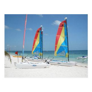 Playas Mujeres-Cancun Mexico Postcard