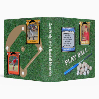 Playball - Baseball Memories Keepsake Album Binder