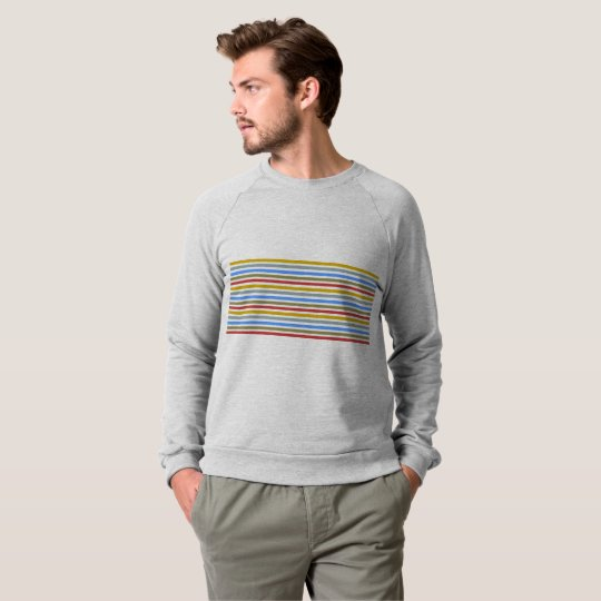 Playbow / Men's American Apparel Raglan Sweatshirt
