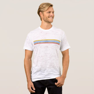 Playbow / Men's Canvas Fitted Burnout T-Shirt