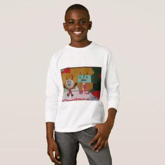Playdate Happy Monsters Original Artwork T-Shirt