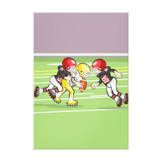 Played Espectacula of American soccer Canvas Print
