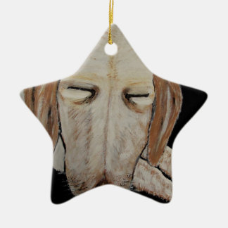 Played Out Ceramic Star Ornament