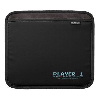 Player 1 iPad pad Horizontal, Sleeve for iPad