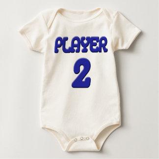 Player 2 Baby shirt w/o glow