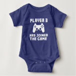 Player 3 has joined the Game funny baby T-shirt