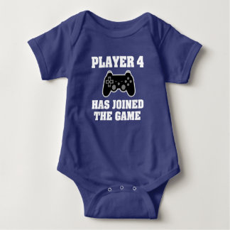 Player 4 has joined the game - Baby Gamer Shirt