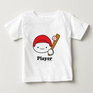 Player (baseball) Baby Apparel (more styles) Tee Shirts