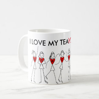 Player Positions and Fun Netball Team Quote Coffee Mug