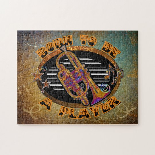 Player Trumpet ID281 Jigsaw Puzzle