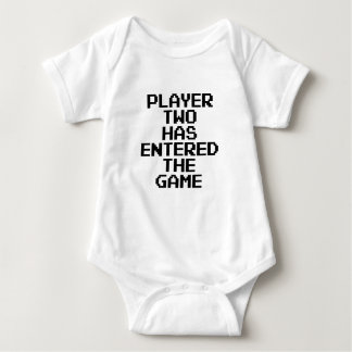 Player Two Has Entered The Game Baby Bodysuit