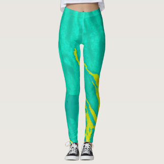 Playful Abstract - Leggings