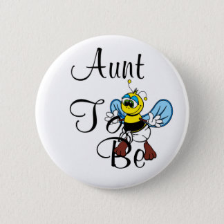 Playful Aunt To Bee 2 Inch Round Button