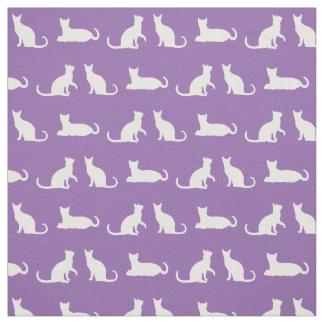 Playful Cat Pattern Unique Fabric