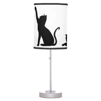 Playful Cats Table Lamp
