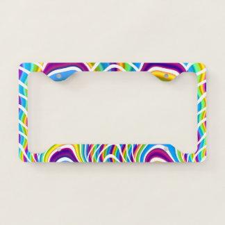 Playful Colors License Plate Frame