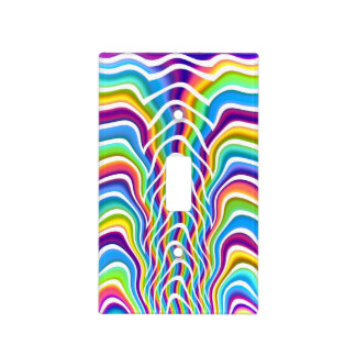 Playful Colors Light Switch Cover