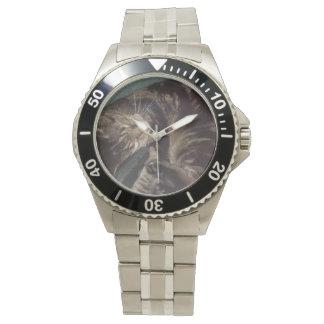 Playful Dave Stainless Steel Bracelet Wristwatch
