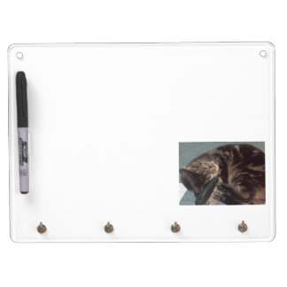 Playful Dave Whiteboard with Key Ring Holder