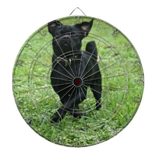 Playful Dog Dartboard