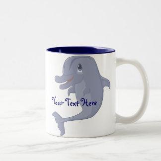 Playful Dolphin Mug