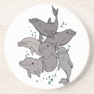 Playful Dolphins Coaster