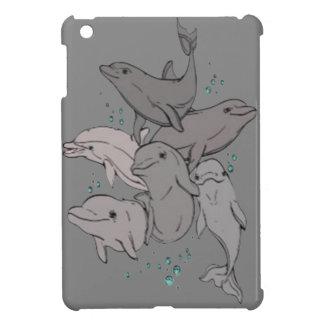 Playful Dolphins iPad Mini Case