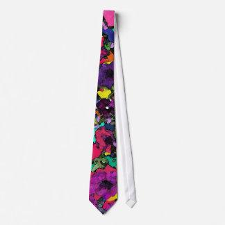 Playful Flowers ~Necktie Tie