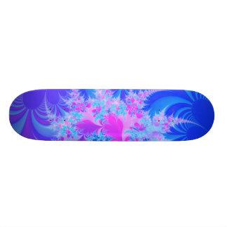 """Playful"" Fractal Art Custom Skateboard"