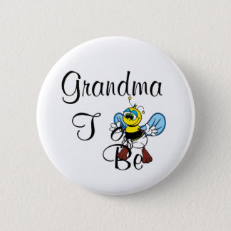 Playful Grandma To Be 2 Inch Round Button