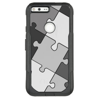 Playful Jigsaw Puzzle Gray OtterBox Commuter Google Pixel XL Case