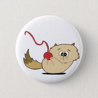 Playful Kitten 2 Inch Round Button
