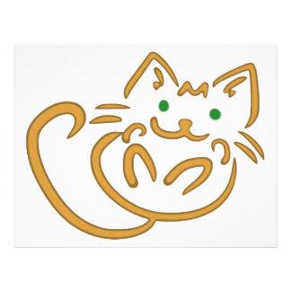 Playful Kitty Personalized Letterhead