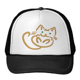 Playful Kitty Trucker Hat