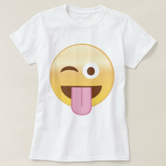 Playful mood emoji T-Shirt