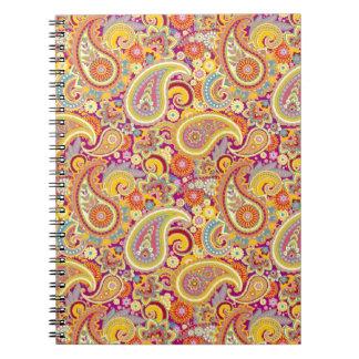 Playful Paisley Notebooks