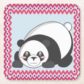 Playful Panda Coaster