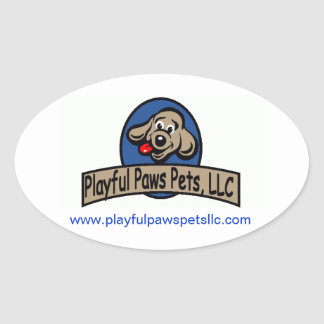 Playful Paws stickers