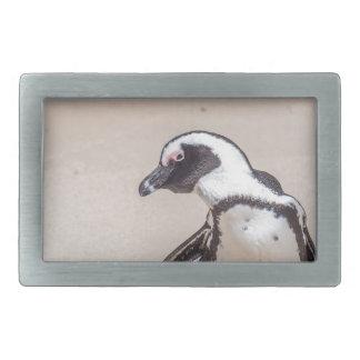 Playful Penguin Rectangular Belt Buckles