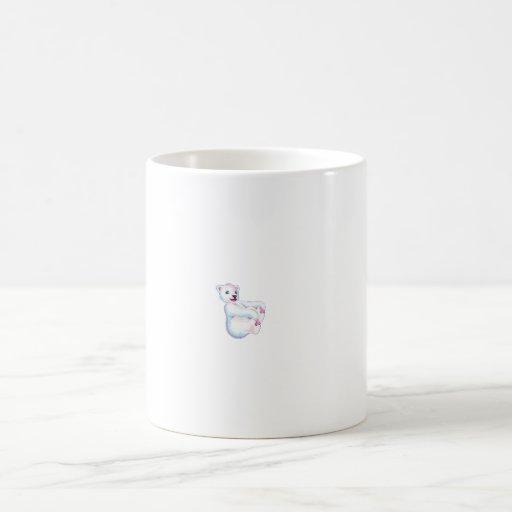 Playful Polar Bear Mug