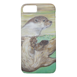 Playful River Otter iPhone 8/7 Case