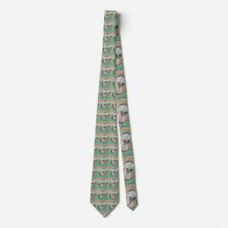 Playful River Otter Tie