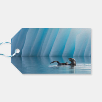 Playful Sea Otter Pack Of Gift Tags